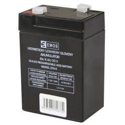 Emos baterie, 6V/4Ah náhradní baterie svítilnám