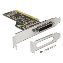 Delock LPT řadič, 1x DB25 samice, Low Profile, PCI