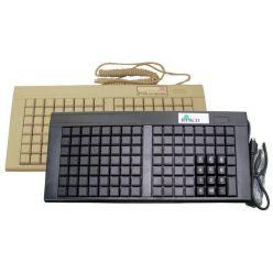 Klávesnice FEC POS 111 kláves, USB, černá