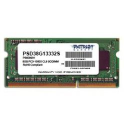 Patriot 8GB DDR3 1333MHz, CL9, SO-DIMM