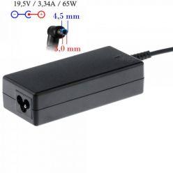 Akyga nabíječka na notebook 19.5V/3.33A 65W 4.5x3mm + pin pro HP