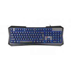 C-TECH Nereus (GKB-13), herní klávesnice, 3 barvy podsvícení, USB, CZ