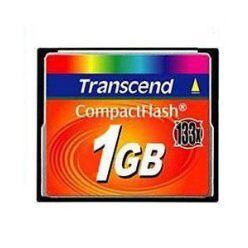 Transcend 1GB CompactFlash paměťová karta, 133x