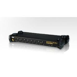 "ATEN KVM switch CS-1758 USB&PS2 8PC , OSD, 19"" rack"