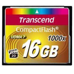 Transcend 16GB CompactFlash paměťová karta, 1000x