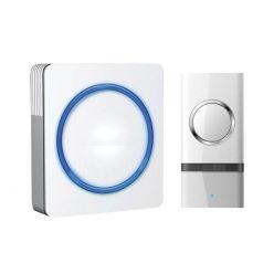 Solight 1L20B, bezdrátový zvonek, do zásuvky, 120m, bílý