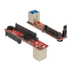 Delock konvertor SATA 6 Gb/s > USB 3.0 typ B samice