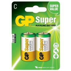 GP Super alkalická baterie, typ C, 1.5V, 2ks