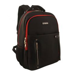 "CRONO Dakota 15,6""/ batoh na notebook/ černý + červený"