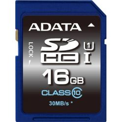 ADATA Premier 16GB SDHC karta, Class 10, UHS-I