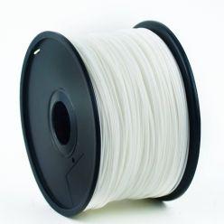 GEMBIRD 3D PLA plastové vlákno pro tiskárny, průměr 1,75 mm, bílé