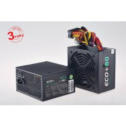 Eurocase ECO+80, 350W ATX zdroj, aPFC, 12cm fan, účinnost 80+