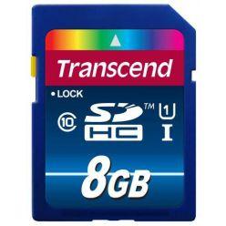 Transcend 8GB SDHC karta, Class 10, UHS-I, 300X, (90/25MB/s)