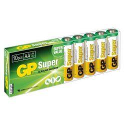 GP AA Super, alkalické AA baterie, 10ks