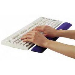 Ednet gelová podložka před klávesnici, modrá