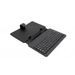 """AIREN AiTab Leather Case 1, 7"""" pouzdro s klávesnicí, microUSB, CZ, černé"""