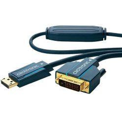 Clicktronic DisplayPort - DVI kabel, DP(M) -> DVI-D(M), 1m