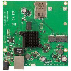 MikroTik RouterBOARD RBM11G, Dual Core 800MHz CPU, 256MB RAM, 1x Gbit LAN, 1x miniPCI-e, ROS L4