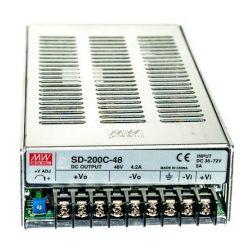 MEAN WELL měnič SD-200C-48, DC/DC, 200W