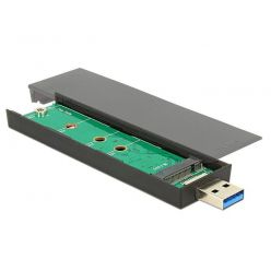 Delock externí box na M.2 Key B 80mm SSD, USB 3.1 Gen 2 Typ-A samec