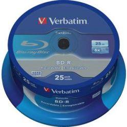 Verbatim BD-R 25GB, 6x, NON-ID, 25ks, spinle