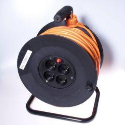 PremiumCord Prodlužovací kabel 230V 50m buben