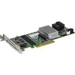 Supermicro AOC-S3108L-H8iR(3108) SAS3RAID(0/1/5/6/10) 2×8643,exp:240HD,2GB,PCI-E8 g3,LP
