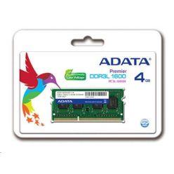 ADATA 4GB DDR3 1600MHz CL11, SO-DIMM, retail