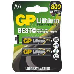 GP AA lithiová baterie, 2 ks