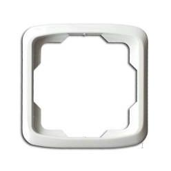 ABB Tango rámeček pro zásuvku jednoduchý, bílá