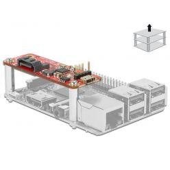 Delock SATA řadič pro Raspberry Pi, micro USB konektor