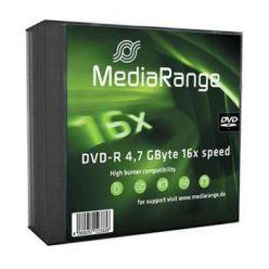 MediaRange DVD-R disky, 4.7GB, 16x, 5ks, slim CD box