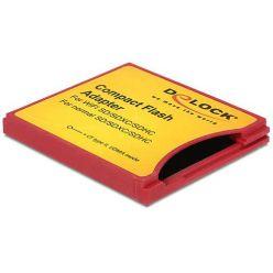 Delock Compact Flash adaptér pro iSDIO - WiFi SDXC paměťové karty