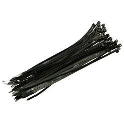 Páska vázací 200mm x 3,6mm 100ks, černá