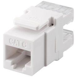 Keystone konektor kat. 6, nestíněný, 180°, LSA