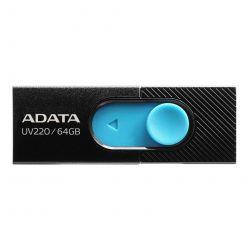 ADATA UV220 64GB flash disk, USB 2.0, black/blue