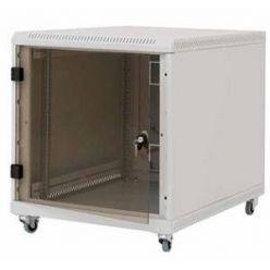 """Triton 19"""" kontejnerový rozvaděč 12U, 1000hl, barva černá, skleněné dveře"""