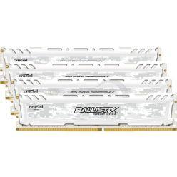 Crucial DDR4 32GB (kit 4x8GB) Ballistix Sport LT DIMM 2400MHz CL16 SR x8 bílá