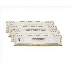 Crucial Ballistix Sport LT White 4x8GB DDR4 2666MHz CL16 DR DIMM