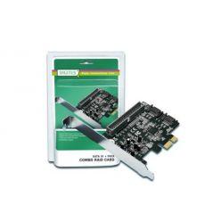 Digitus SATA III + ATA řadič, 2x SATA III, 1x ATA, SATA RAID, PCIe 2.0