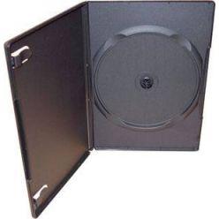 Plastový DVD Slim box pro 1 DVD - 9mm, černý
