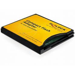 Delock redukce SD/microSD na CF (SDXC/SDHC/MMC do CompactFlash II)